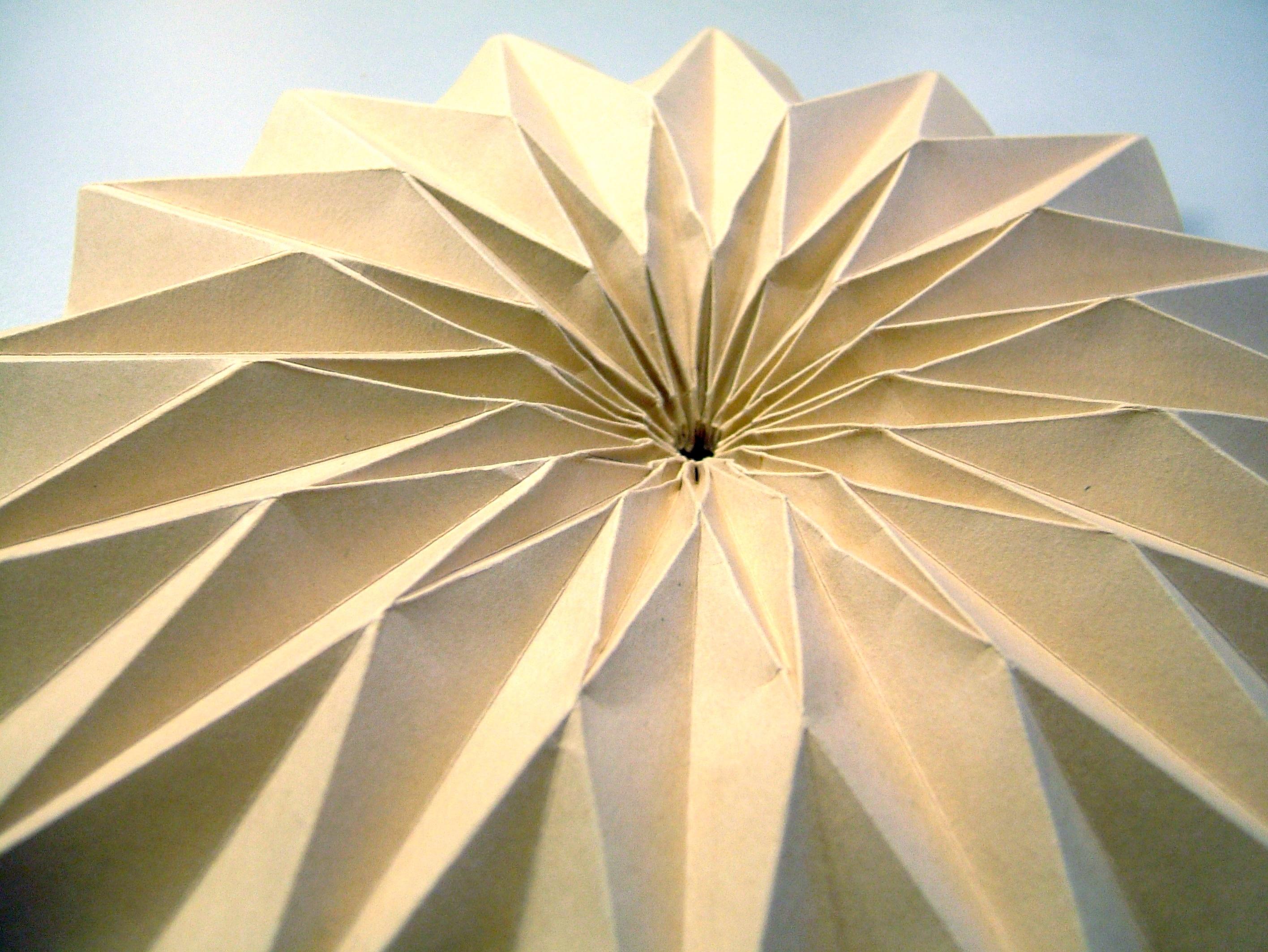 Fibonacci bowl, detail